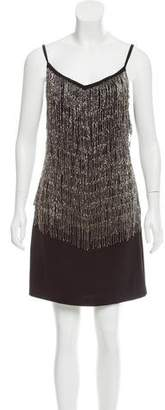 Laundry by Shelli Segal Embellished Mini Dress w/ Tags