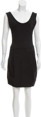 Issey Miyake Sleeveless Mini Dress