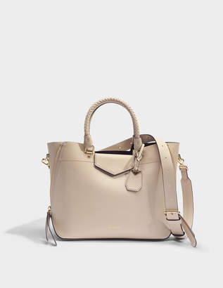 MICHAEL Michael Kors Blakely Medium Tote Bag in Oat Viola Leather