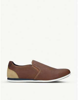 Aldo Keliniel faux-leather trainers