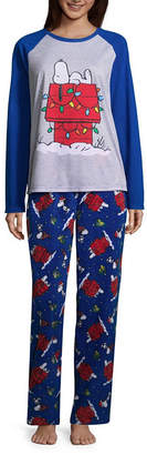 Peanuts 100 2-pack Holiday Pant Pajama Set