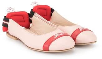 Fendi slingback ballerina flats