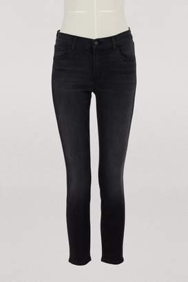J Brand Capri mid-rise jeans