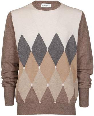 Ballantyne Color Contrast Sweater