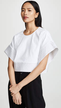 3.1 Phillip Lim Boxy T-Shirt with Back Ties