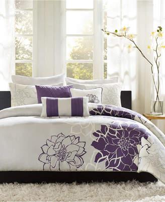 Madison Park Lola 6-Pc. King/California King Duvet Cover Set Bedding