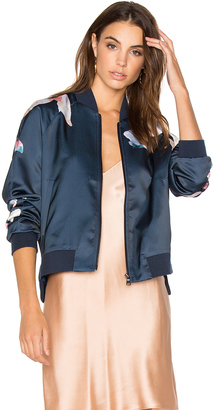 Joe's Jeans Elsie Bomber Jacket $257 thestylecure.com
