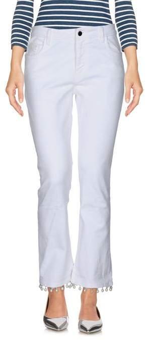 UNIQUENESS Denim trousers