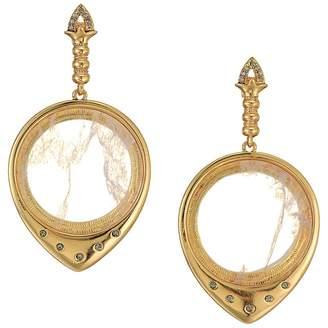 House Of Harlow Luna Stone Statement Earrings Earring