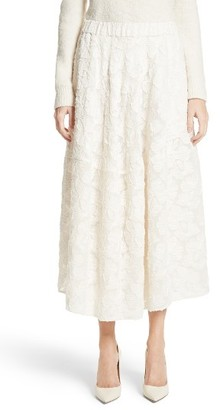 Women's Co Pleated Fil Coupe Midi Skirt $1,325 thestylecure.com