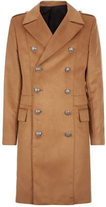 Balmain Double Breast Longline Coat