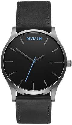 MVMT Classic Series - 45 mmBlack Silver