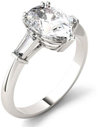 Charles & Colvard Moissanite Pear Engagement Ring (2-1/2 ct. tw.) in 14k White Gold