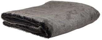 "Northlight Brown Faux Fur Plush Throw Blanket 50"" x 60"""