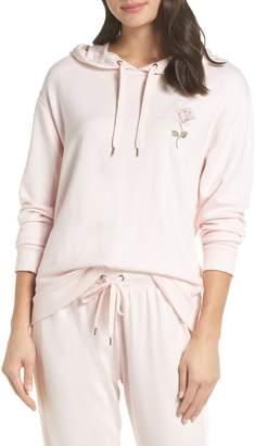 Splendid Gathered Back Hoodie Pajama Top