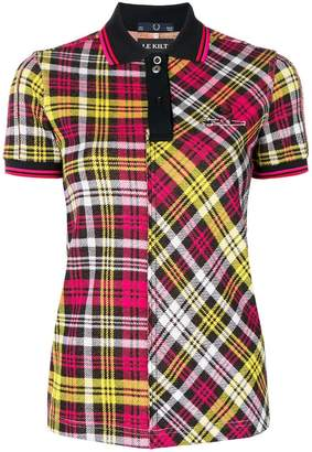Le Kilt tartan polo shirt