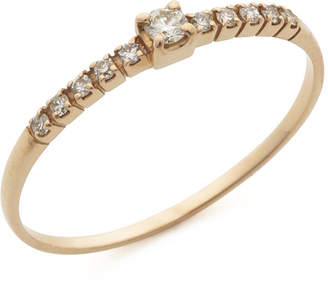GIANTTI K18PG ダイヤモンド0.10ct リング ピンクゴールド 8