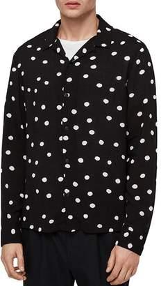 AllSaints Pozere Slim Fit Button-Down Shirt
