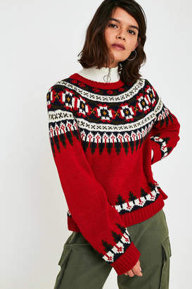 Urban Outfitters Henry Fair Isle Sweater