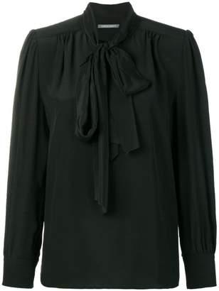 Alberta Ferretti tie neck blouse
