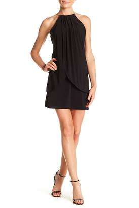 Kensie Tulip Draped Chain Strap Dress