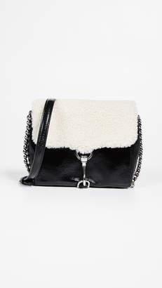 Rebecca Minkoff Shearling Stella Crossbody Bag