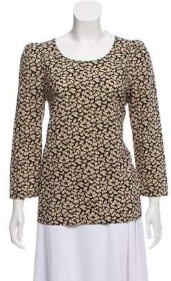 The Great Printed Long Sleeve Top