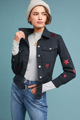 Current/Elliott Star Denim Jacket
