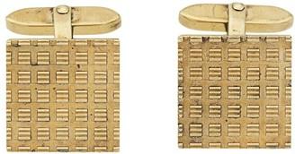 Katheleys Vintage 1950's 18kt gold oversized cufflinks