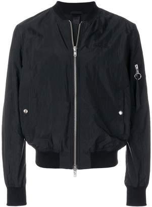 Odeur cropped bomber jacket