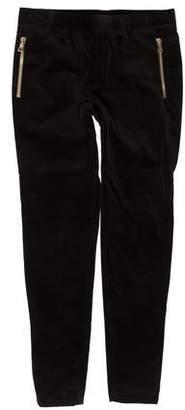 Balmain Velvet Skinny Pants