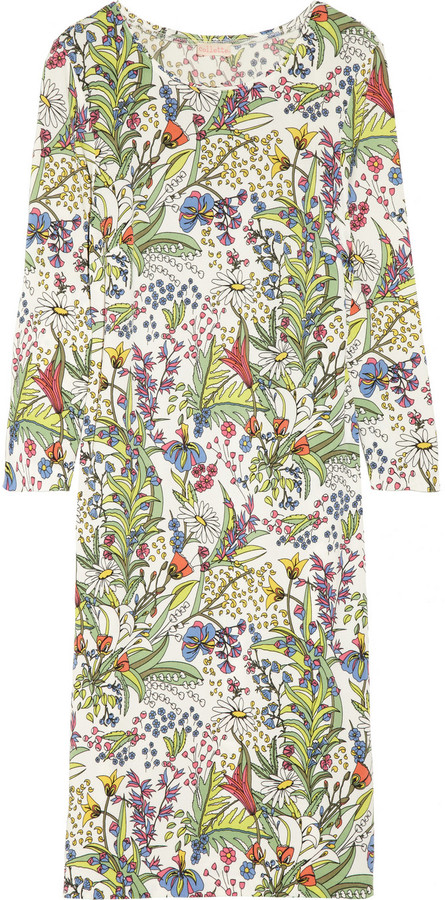 Collette Dinnigan Collette by Beautiful Dreamer floral-print stretch-jersey dress