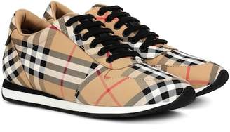 Burberry Amelia check sneakers