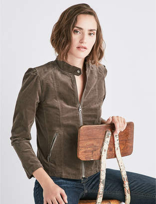 Lucky Brand PUFF SLEEVE CORD JACKET