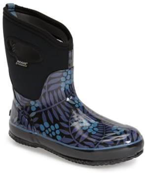Bogs 'Winterberry' Mid High Waterproof Snow Boot with Cutout Handles