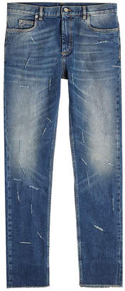 Maison Margiela Distressed Skinny Jeans