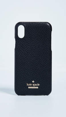 Kate Spade Pebbled iPhone X Snap Case