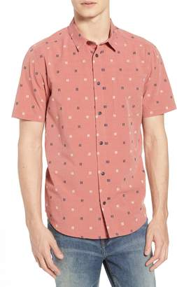 RVCA And Sons Geo Pattern Woven Shirt