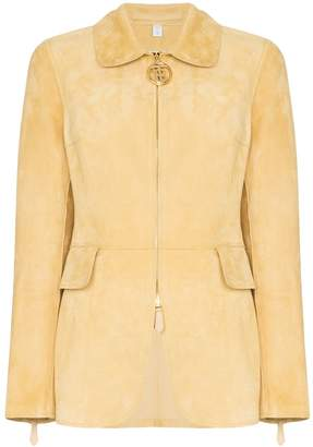 Burberry Tiverton zip-front jacket