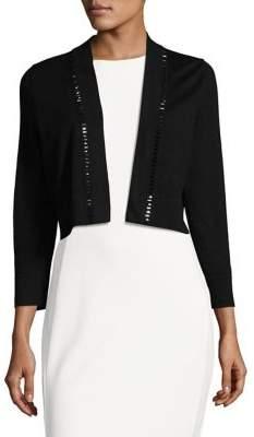 Calvin Klein Embellished Cropped Cardigan