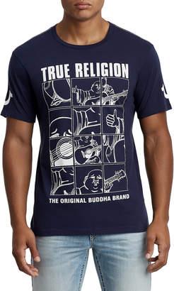 True Religion BUDDHA CREW NECK TEE