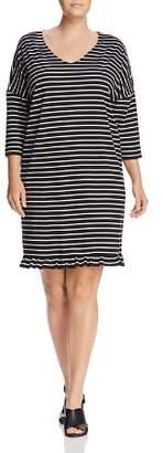 Junarose Plus Dessie Stripe Dress
