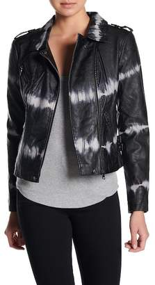 Black Leather Tie Jacket Shopstyle