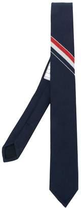 Thom Browne Classic Rwb Stripe Tie