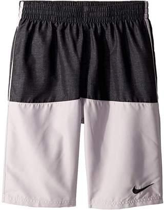 Nike 8 Linen Split Volley Shorts (Little Kids/Big Kids)