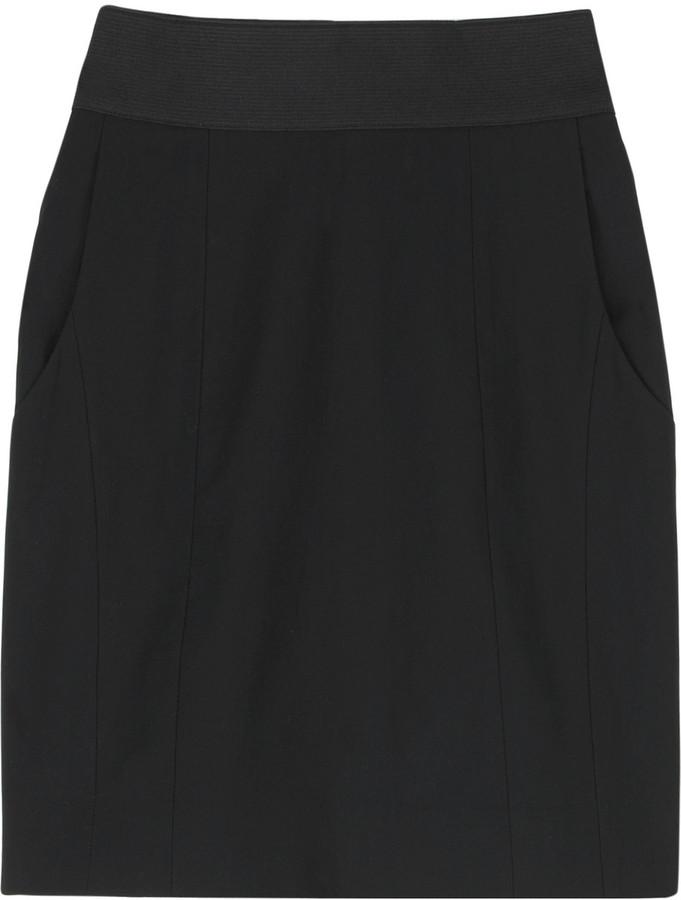 Helmut Lang Stretch mini skirt