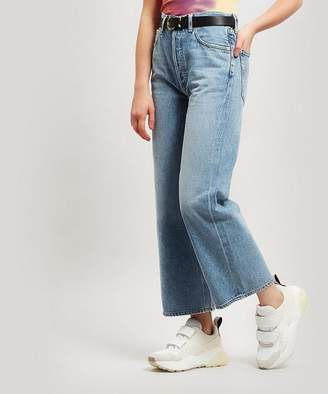 A Gold E AGOLDE Ren High-Waist Wide-Leg Jeans