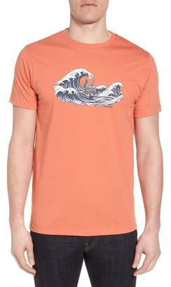 Patagonia Oily Olas Slim Fit Organic Cotton T-Shirt