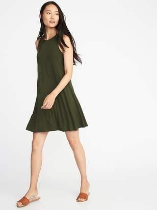 Old Navy Jersey-Knit Sleeveless Swing Dress for Women