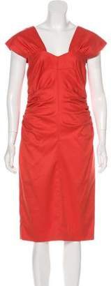 Robert Rodriguez Sleeveless Bodycon Dress